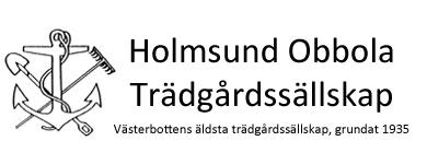 Holmsund - Obbola Trädgårdssällskap